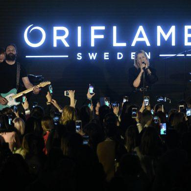 lansare concert oriflame