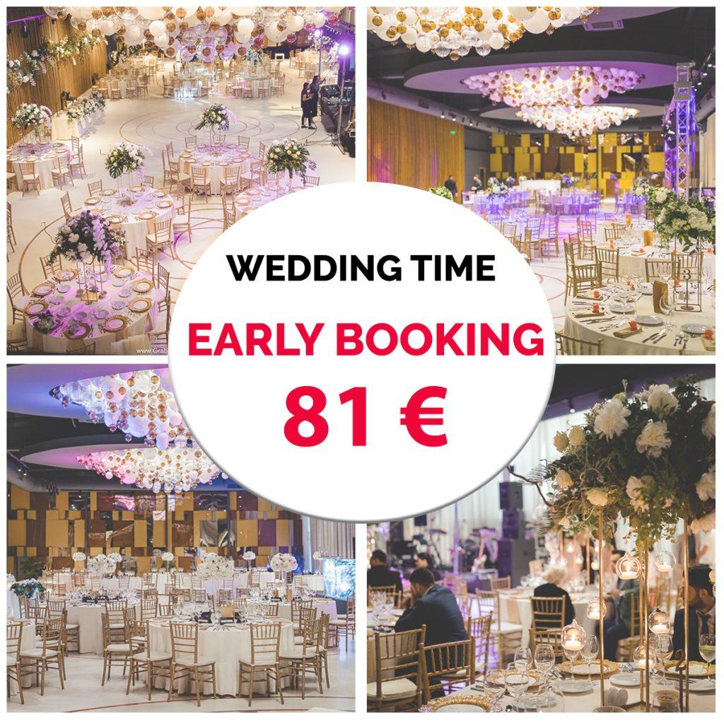 oferta nunta early booking