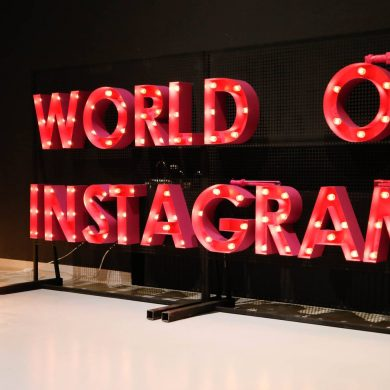 word of instagram party